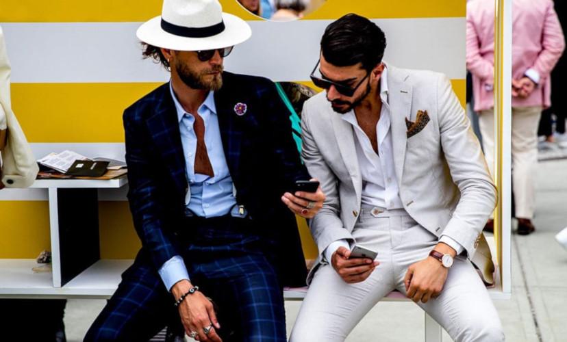 Mode pour homme Italie
