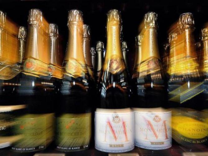 Champagne bloccato in Russia